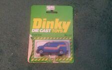 DINKY FORD VAN USA CUSTOM No 119 BLUE MINT HONG KONG + OPENED BLISTER PACK 1980