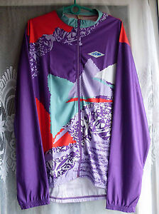 New blouse bicycle long sleeve Tzamo 100% poliestere very trendy color 6/ XL