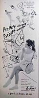 PUBLICITÉ DE PRESSE 1955 PSCHITT ORANGE PSCHITT CITRON- BRIGITTE BARDOT - TENNIS