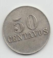 Costa Rica Railway C.R 50 Centavos transit token - San Jose Costa Rica