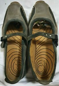 COLERADO Brown leather M J Style Flats Size 7.5  comfy- as New