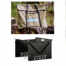 Adventure Kings Portable Steel Fire Pit + Fire Pit Canvas Bag