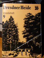 "Tourist Wanderheft "" Dresdner Heide "" 1986 illustriert"