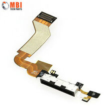 New Replacement Charging Dock Port Connector Flex Cable for iPhone 4 4G Black