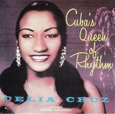 Celia Cruz Cubas Queen Of Rhythm CD No Cubierta de Plástico