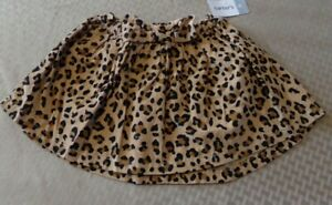 NEW! Carter's ~ GIRLS SIZE 3T ~ LINED Animal Print SKIRT  NWT