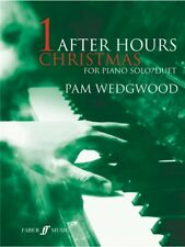 Pamela Wedgwood After Hours Christmas Learn to Play Piano Piano Duet MUSIC BOOK