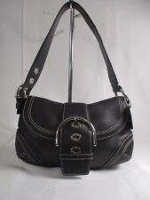 Coach Soho Small Black Leather Shoulder Bag Purse 10316