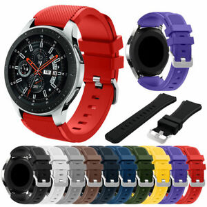 US Stylish Soft Silicone Bracelet Strap Watch Band For Samsung Galaxy Watch 46mm