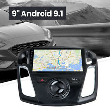 Quality Android 9.1 Stereo Radio GPS Navi Bluetooth WIFI for Ford Focus 12-17