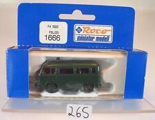 Roco 1/87 No. 1666 Ford FK 1000 Bus Polizei neutral OVP #265