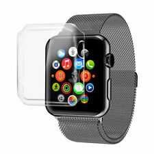 2X NEW Apple Watch Series 2 Case Cover iWatch Protective Case Bumper Rugged 38mm