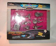 Star Trek Micro Machines Collectors series TV set 1 MIP silver