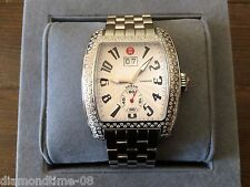 PRE-OWNED MICHELE LARGE URBAN CLASSIC DIAMOND LADIE'S WATCH MWW02M000002