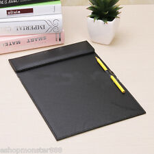 Business Office A4 Leather Files Paper Folder Writing Pad Tablet Drawing Board