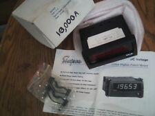 NEW BOX  SIMPSON 95F5529 DCA FALCON F45-1-11-0 VOLTAGE METER 0-200MVDC 10,000ADG