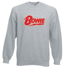 David Bowie Sweatshirt Jumper All Sizes John Lennon Ziggy Stardust