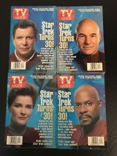 Star Trek 1996 30th Anniversary TV Guide Complete Special Edition Set of 4
