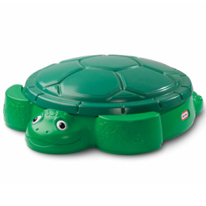Sandbox Turtle and Cover Backyard Outdoor Summer Play Fun by Little Tikes