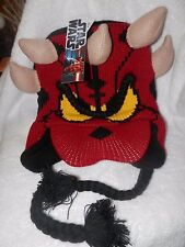 Disney Parks Star Wars Darth Maul Donald Duck Knit Hat Unisex Adult/Youth **NEW*