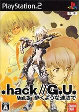UsedGame PS2 hack//GU Vol 3 Aruku Youna Hayasa de [Japan Import] FreeShipping