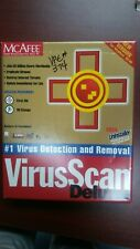 "McAfee VirusScan virus scan Deluxe - For Windows 98/95 CD & 3.5"" disk"