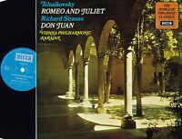 Tchaikovsky ROMEO AND JULIET Strauss DON JUAN LP Karajan DECCA UK 1971 SPA119 Ex