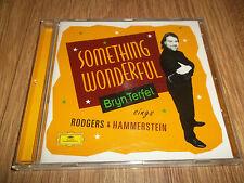 BRYN TERFEL - SOMETHING WONDERFUL (SINGS RODGERS & HAMMERSTEIN) (CD ALBUM)