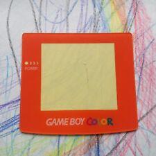 Orange Nintendo Gameboy Color Lente de Pantalla de reemplazo