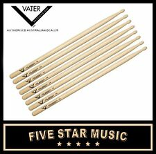 VATER VH5AW LOS ANGELES WOOD TIP 5A 4 PAIRS DRUM STICKS USA HICKORY WOOD - NEW