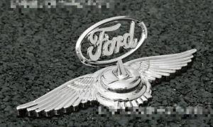 3D Zinc Alloy Flight Car Truck Hood Ornament Emblem Decal Badge For Ford