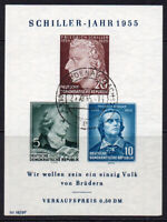 East Germany Miniature Sheet of Stamps c1955 (April 30th) Fine Used (8109)