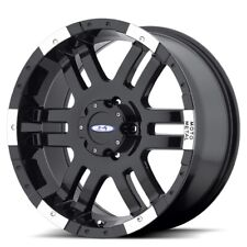 16 Inch Black Wheel Rims Lifted FITS: Nissan Titan Hummer H3 Toyota Tacoma 16x9