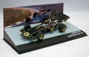 Lotus 72 D (Emerson Fittipaldi - British GP 1972) in Black (1:43 scale by Ex Mag