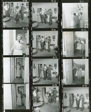 KATHY NOLAN AT HOME THE REAL MCCOYS RARE ORIGINAL 1959 ABC TV PROOFSHEET