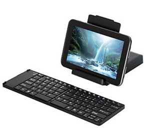 TARGUS Foldable Bluetooth Keyboard for Android Teblet, iPad, iPhone AKF001US