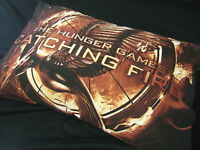 """New The Hunger Games Catching Fire Flaming Mockingjay 20"""" x 26"""" Bed Pillowcase"""