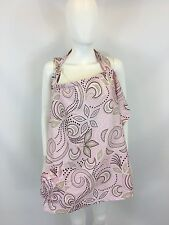 Hooter Hiders Pink Patterned Nursing Cover OS