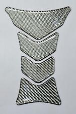 Honda CBR1000RR CB CBR600RR VFR VTR Silver real carbon fiber tank protector pad