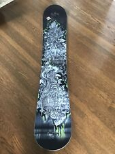 Lib Tech Cygnus X1 Snowboard  #43- LIMITED EDITION 157 signed By Mike Oslon 2015