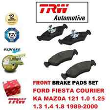 FOR FORD FIESTA COURIER KA MAZDA 121 1.0 1.25 1.3 1.8 1989-2000 FRONT BRAKE PADS