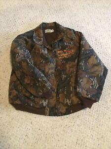 Mossy Oak 1995 Iowa Governors Deer Hunt Camo Jacket XXL