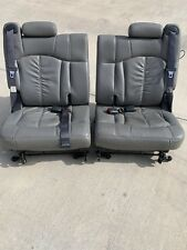 01-06 Chevy Tahoe GMC Yukon Cadillac Escalade Third Row Seats Grey 3rd 2000-2006