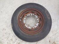 Porsche 356 Original KPZ Steel Wheel FL # 9  date stamped 3/58, 4 1/2 J X 15