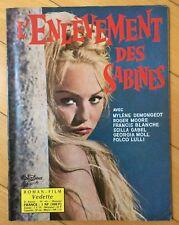 ►ROMAN PHOTOS PEPLUM : L'ENLEVEMENT DES SABINES - DEMONGEOT - ROGER MOORE - 1962