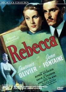 REBECCA - JOAN FONTAINE & LAURENCE OLIVIER - NEW & SEALED DVD - FREE LOCAL POST