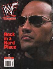WWF Magazine June 2000 The Rock EX 121015DBE