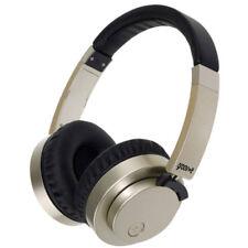 GROOV-E FUSION Bluetooth sans fil ou Câblé Écouteurs Stéréo - Or NEUF