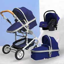 Baby Pram Buggy Newborn 3 in1 Travel System Car Seat Stroller Carrycot Pushchair