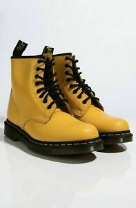Wmns Dr. Martens 1460 8-Eye Lace Up Combat Boot Yellow US 8 24614700 gigi hadid